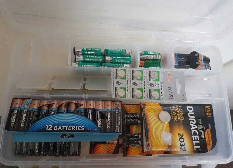 MY BATTERY STORAGE
